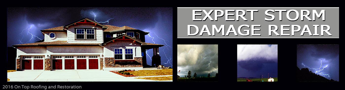 Beautiful Storm Damage Colorado Springs